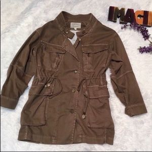 Jackets & Blazers - Current Elliot the military parka jacket